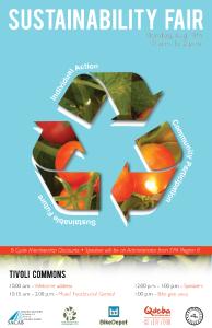 sustainability fair poster
