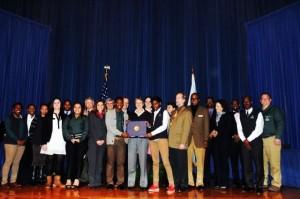 GWUSA 2014 - DOI award
