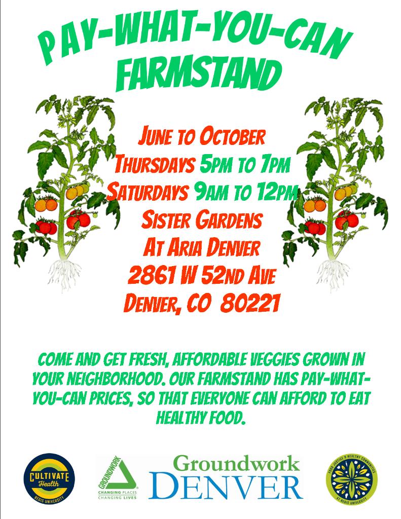Farmstand Flyer sister garden_single
